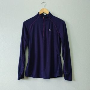 Paradox Violet Purple Quarter 1/4 Zip Sweatshirt